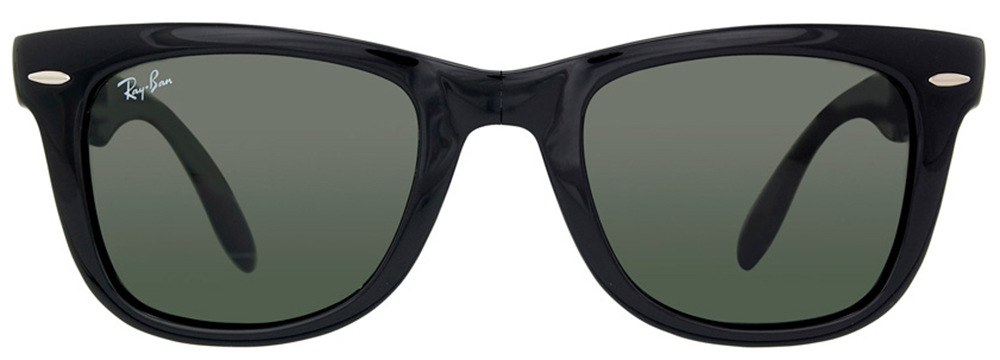 Ray-Ban RB4105 601 50 Folding Wayfarer Men's Sunglasses  available at Lenskart for Rs.0