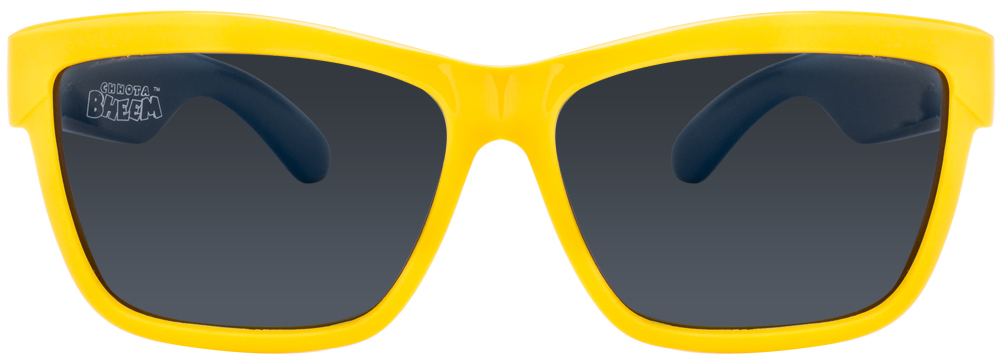 Chhota Bheem S830 P Yellow Blue Grey CE10 Wayfarer Kids' Sunglasses (Kids 2-5 yrs)