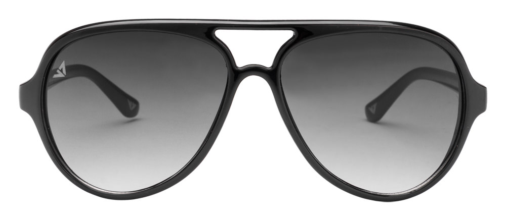 Vincent Chase VC 5991 Black Grey Gradient C1 Aviator Sunglasses
