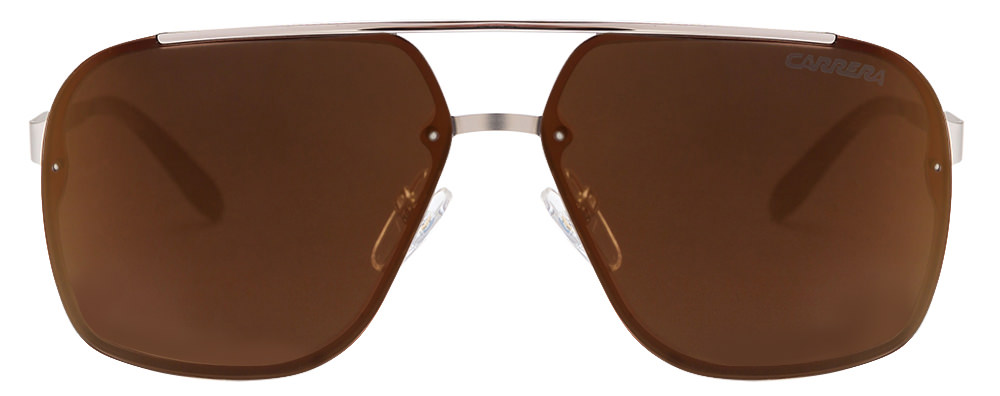 Carrera 91/S Silver Brown Reflector Mirror CGS Aviator sunglasses  available at Lenskart for Rs.0