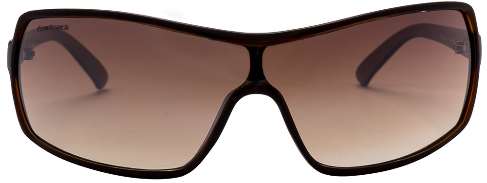 Fastrack P119BR2 Brown Sunglasses  available at Lenskart for Rs.0