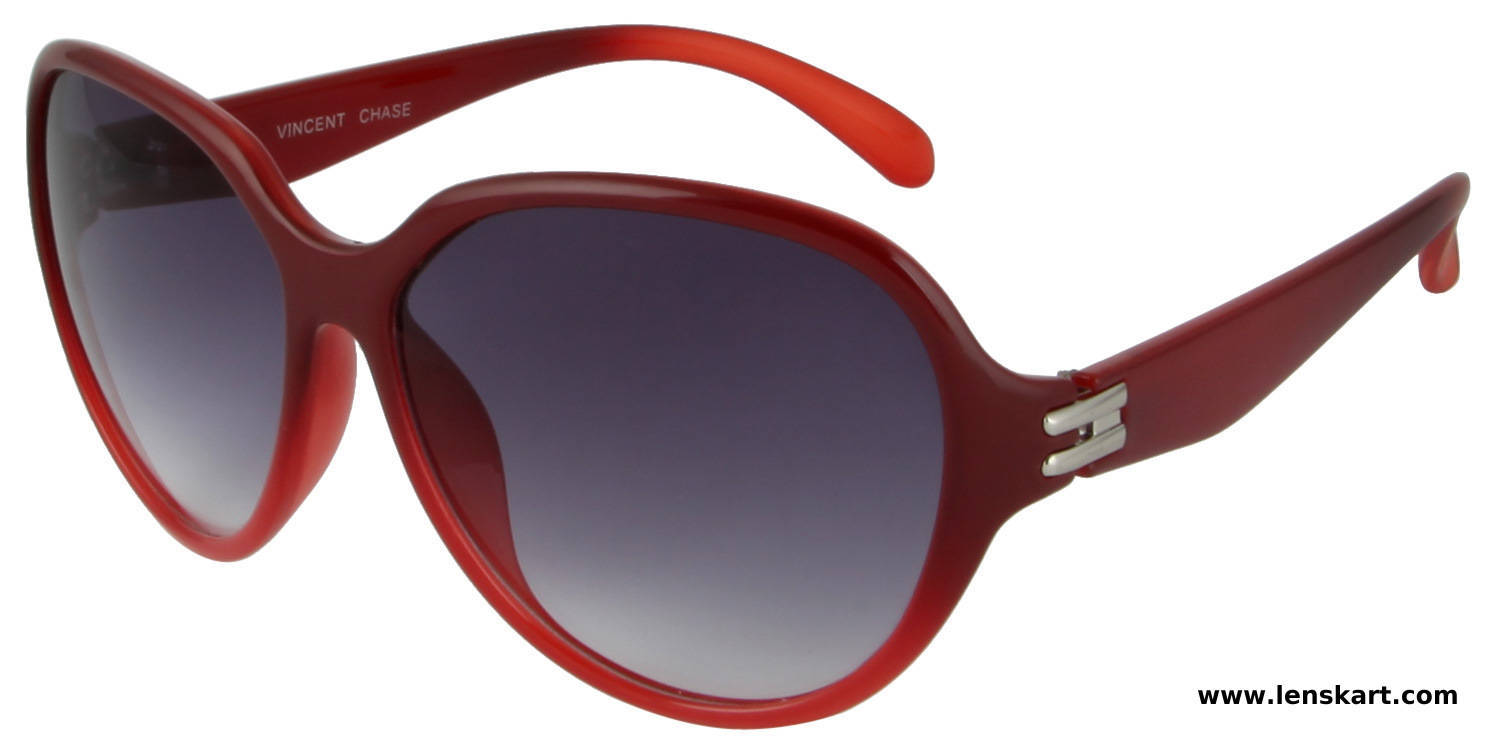 Vincent Chase VC 1043 Cherry Light Blue Gradient Women Sunglass
