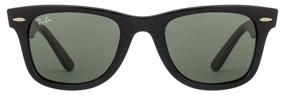 Ray-Ban RB2140 1184 Size-50 Black Green Wayfarer Sunglasses  available at Lenskart for Rs.0