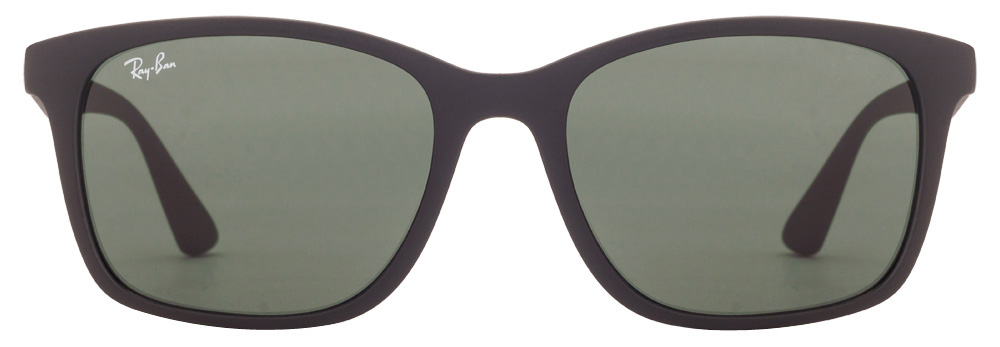 Ray-Ban RB7059 601s/71 Size:55 Matte Black Green Wayfarer Sunglasses  available at Lenskart for Rs.0