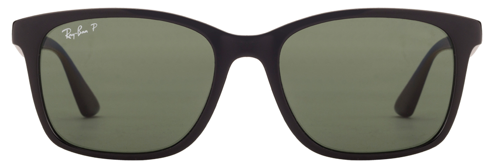 Ray-Ban RB7059 601/9A Size:55 Black Green Wayfarer Polarized Sunglasses  available at Lenskart for Rs.0