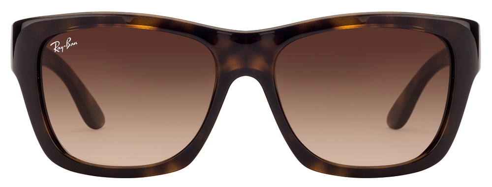 Ray-Ban RB4194 710/13 Size:53 Tortoise Brown Gradient Wayfarer Sunglasses  available at Lenskart for Rs.0