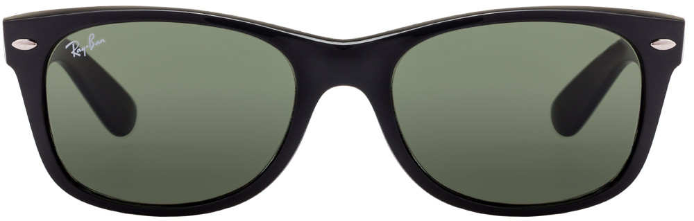 Ray-Ban RB2132 901 Size:52 Matt Black Green Wayfarer Men's Sunglasses  available at Lenskart for Rs.0
