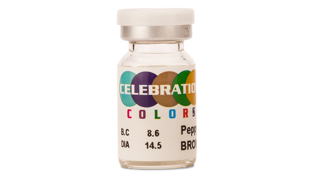 Celebration Brown Colour Toric Contact Lens (1 Lens Box)  available at Lenskart for Rs.0