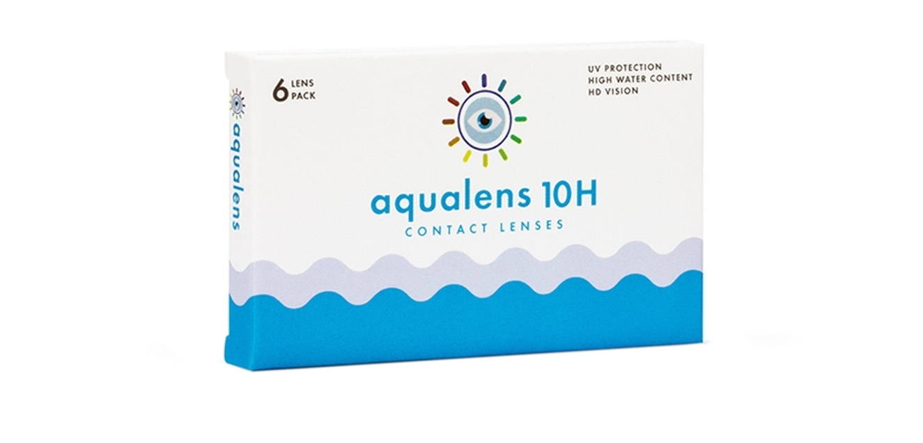 Aqualens 10 H Monthly  Disposable (6 lens/box)  available at Lenskart for Rs.0