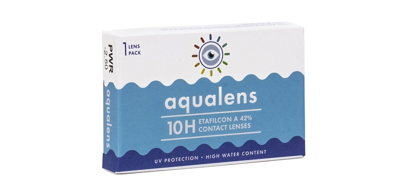 Aqualens 10h contact lens (1 Lens box)  available at Lenskart for Rs.0