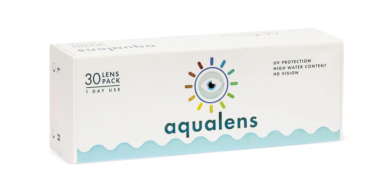 Aqualens 24 H Daily Disposable (30 lens/box)  available at Lenskart for Rs.0