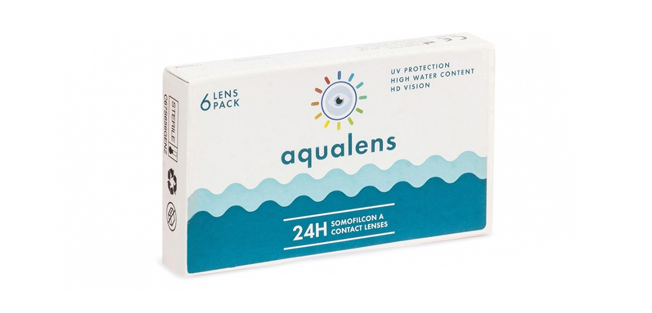 Aqualens 24 H Monthly Disposable (6 lens/box)  available at Lenskart for Rs.0