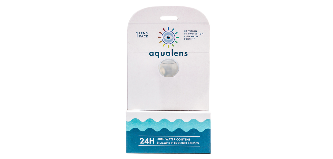 Aqualens 24 H Monthly Disposable with Lens Case (1 Lens/box)  available at Lenskart for Rs.0