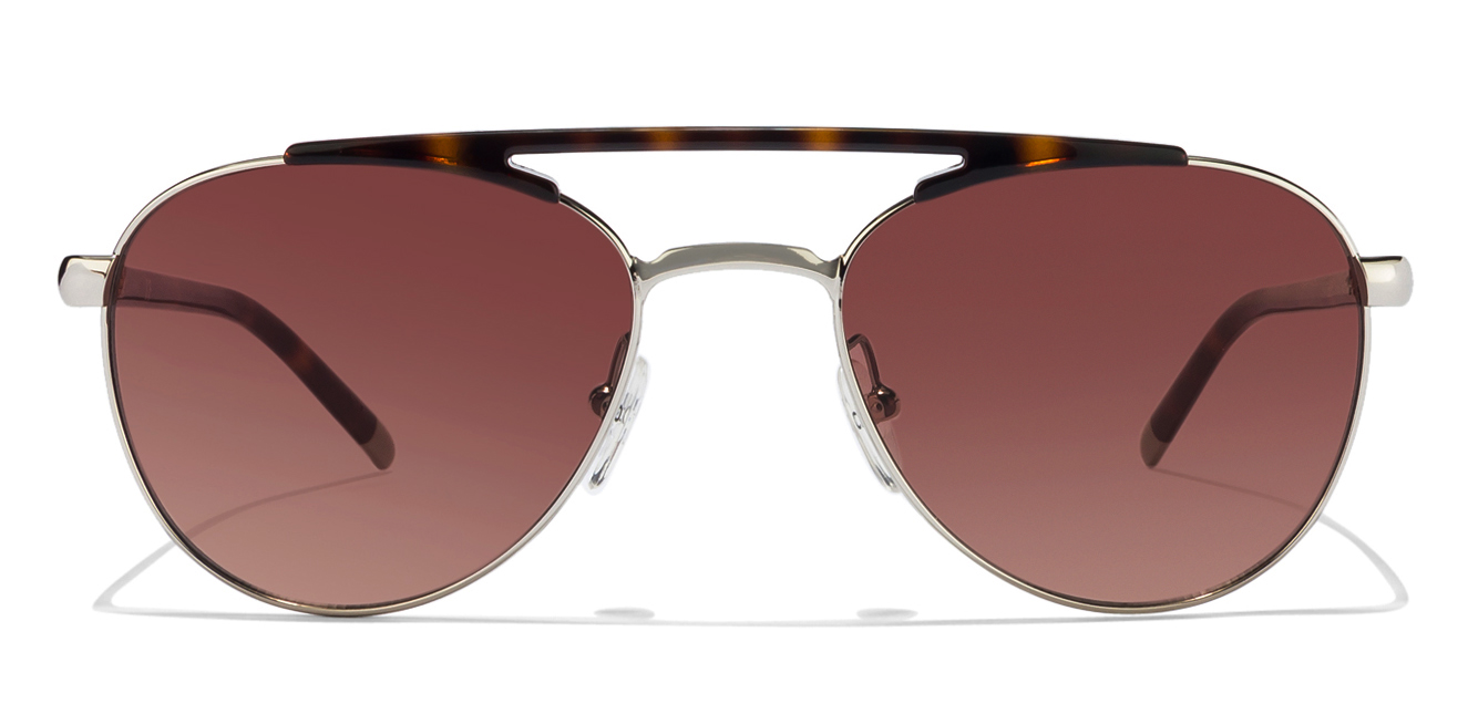 Calvin klein CK1220S Size-54 Tortoise Silver Tortoise Brown Gradient 714 Aviator sunglasses  available at Lenskart for Rs.0