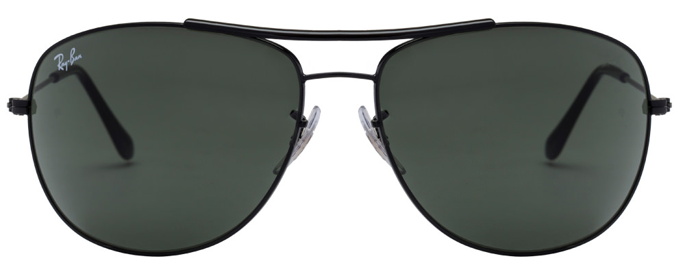 Ray-Ban RB3412I 002 size-63 Black Grey Metal sunglasses  available at Lenskart for Rs.0