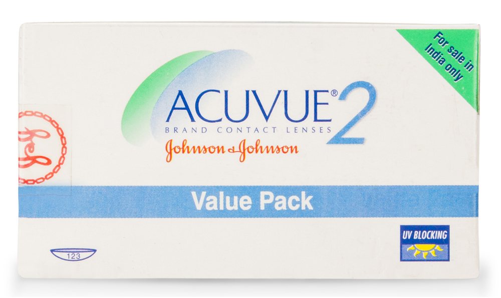 Acuvue2 contact lenses only $1450 per box
