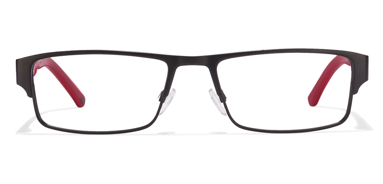 Emporio Armani EA1005 Size:54 Black Red 3001 Eyeglasses  available at Lenskart for Rs.0