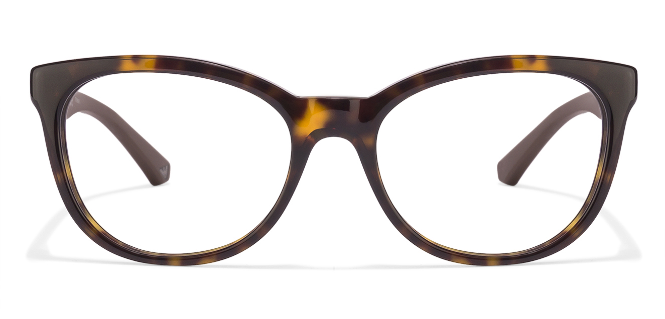Emporio Armani EA3105 Size:52 Tortoise Brown 5026 Women's Eyeglasses  available at Lenskart for Rs.0
