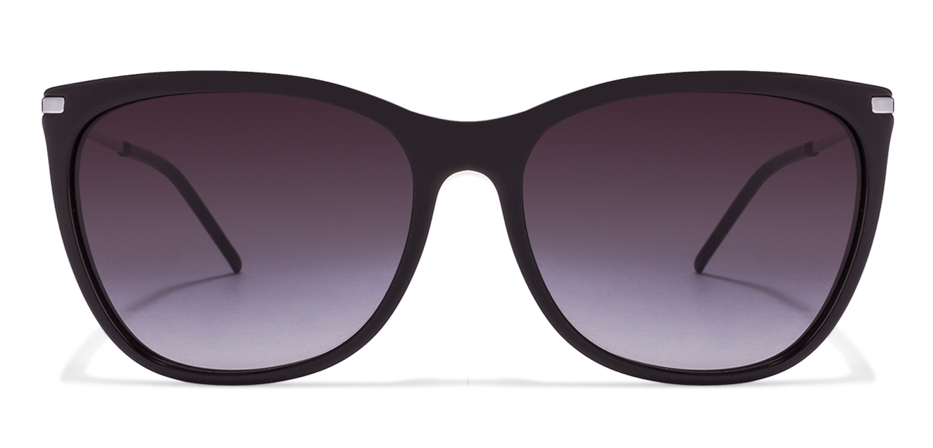 Emporio Armani EA4051 Size:56 Black Gunmetal Black Grey Gradient 5017/8G Women's Sunglasses  available at Lenskart for Rs.0