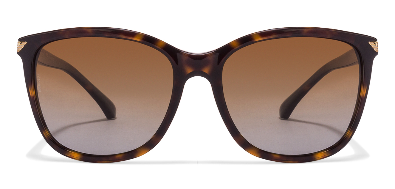 Emporio Armani EA4060 Size:56 Tortoise Brown Gradient 5026/T5 Women's Sunglasses  available at Lenskart for Rs.0