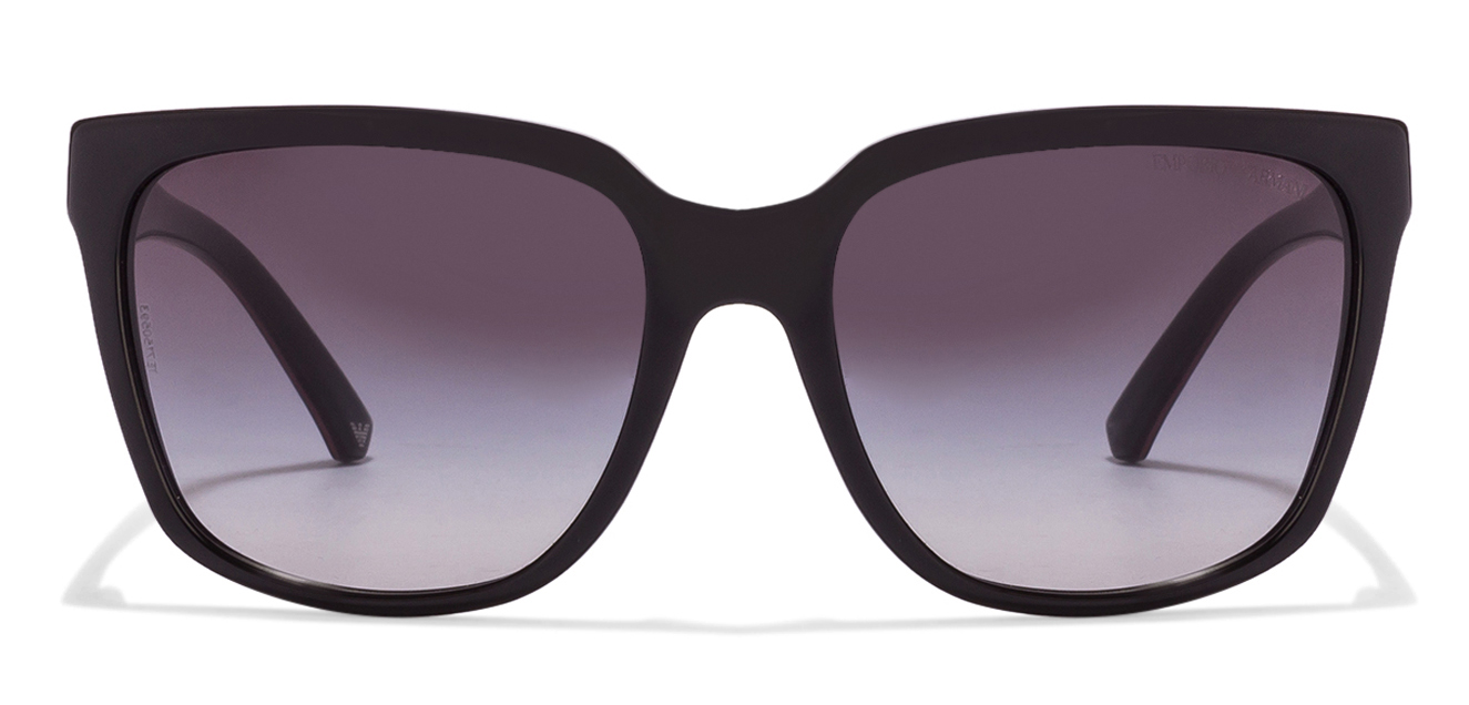 Emporio Armani EA4070 Size:55 Black Pink Line Grey Gradient 5017/8G Wayfarer Women's Sunglasses  available at Lenskart for Rs.0
