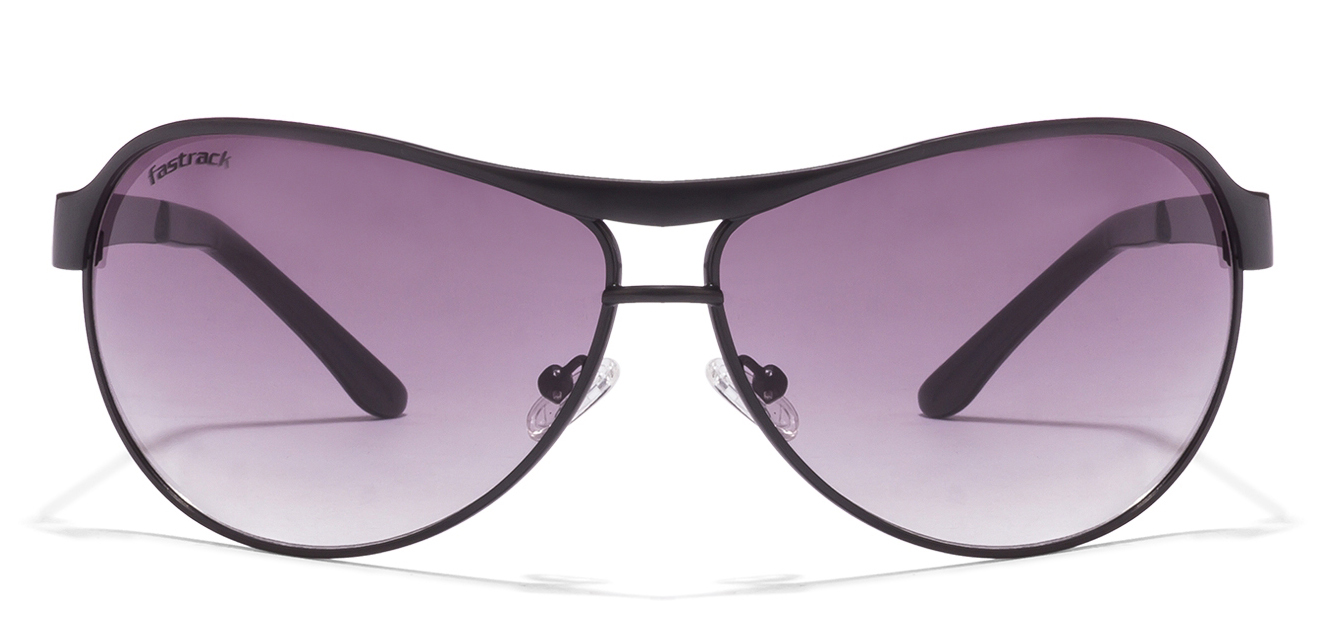 Fastrack M035GY1 Black Grey Graident 05AC Aviator Sunglasses  available at Lenskart for Rs.0