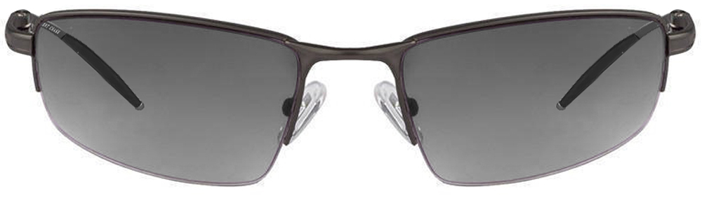 Vincent Chase VC 2303 Matt Grey Grey Gradient Unisex Sunglasses