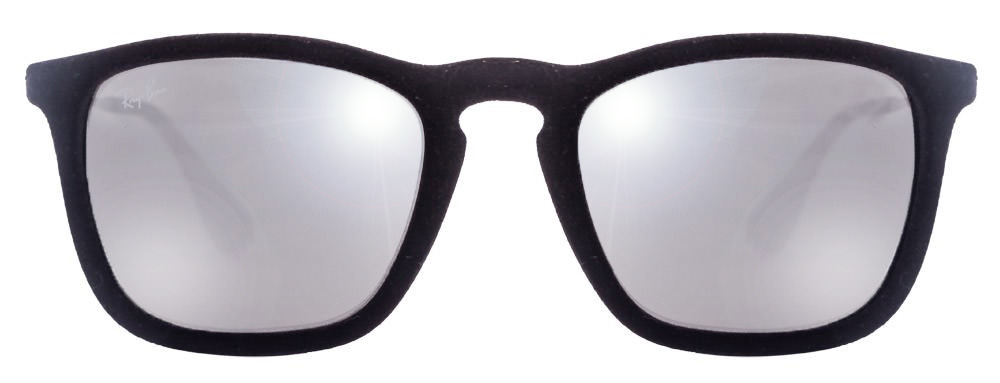 Ray-Ban RB4187 60756G Size:54 Black Blue Velvet Wayfarer Sunglasses  available at Lenskart for Rs.0