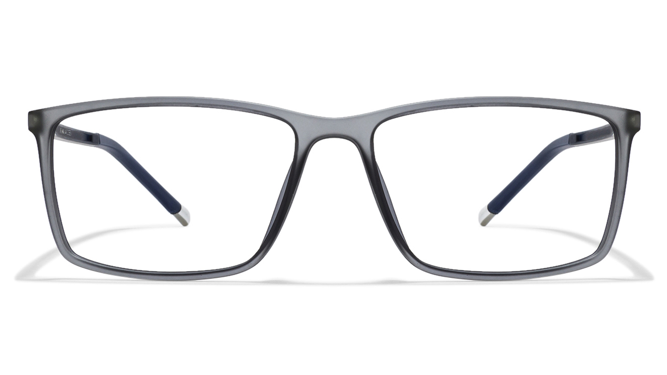John Jacobs Marine Drive JJ 4463 Matte Grey Blue C4 Eyeglasses  available at Lenskart for Rs.0
