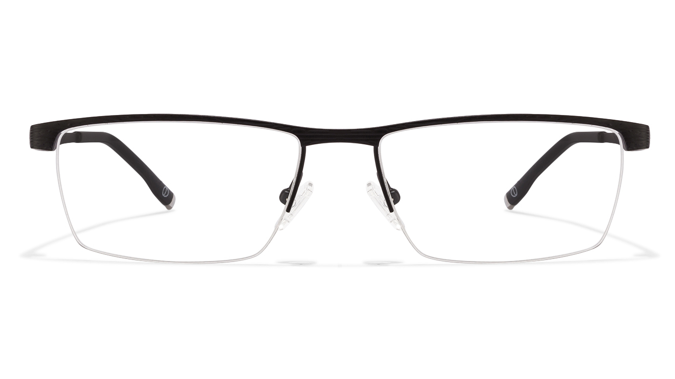 John Jacobs Wall Street JJ E10195 Black C2 Eyeglasses  available at Lenskart for Rs.0