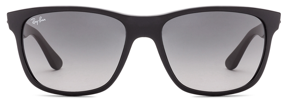 Ray-Ban RB4181 601/71 Size:57 Black Blue Wayfarer Men's Sunglasses  available at Lenskart for Rs.0