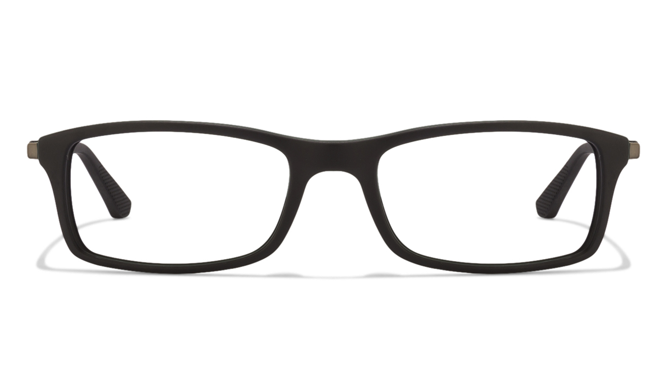 ray-ban RX7017 5197 Size:54 Black Green Eyeglasses  available at Lenskart for Rs.0