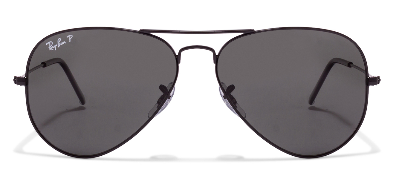 Ray-Ban RB3025 002/58 Size:58 Black Aviator Men's Sunglasses  available at Lenskart for Rs.0