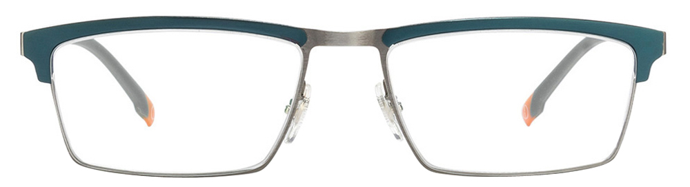 John Jacobs Titanium JJ 4449 Matte Gunmetal Blue C2 Eyeglasses  available at Lenskart for Rs.0