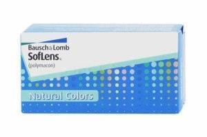 Bausch & Lomb's Optima Natural Look Contact Lenses: Left Eye (OS)
