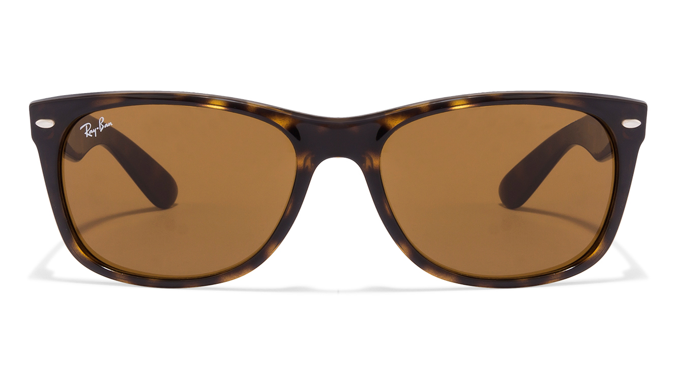 Ray-Ban RB2132 Size:58 Tortoise Brown 710 Wayfarer Sunglasses  available at Lenskart for Rs.0