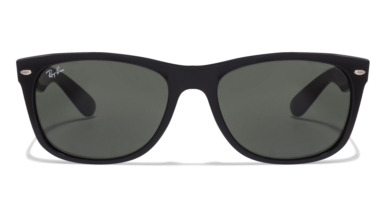 Ray-Ban RB2132 Size:58 Black Green 901 Wayfarer Sunglasses  available at Lenskart for Rs.0