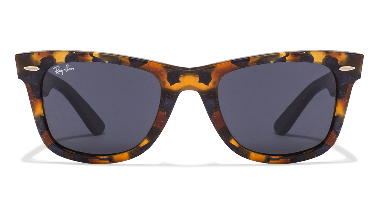 Ray-Ban RB2140 1188/R5 Size:50 Blue Brown Tortoise Grey Wayfarer Sunglasses  available at Lenskart for Rs.0