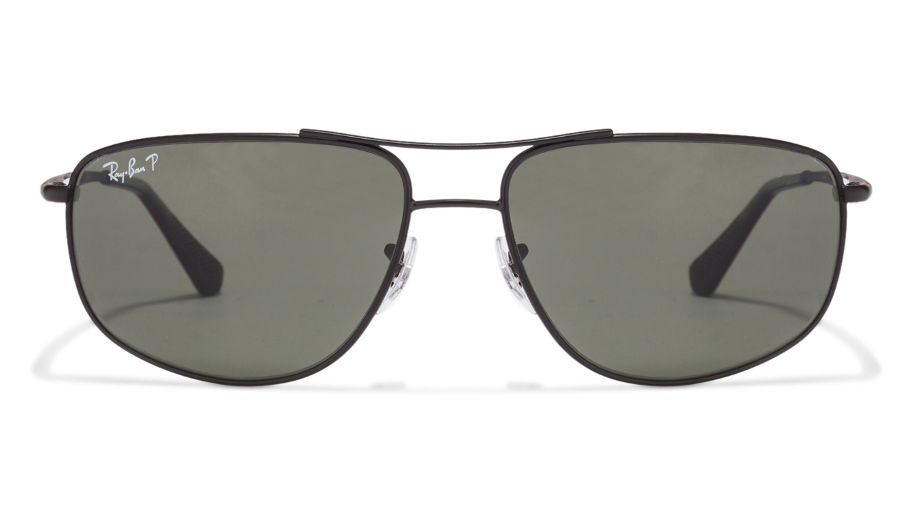 Ray-Ban RB3490 006/9A Size-62 Black Green sunglasses  available at Lenskart for Rs.0