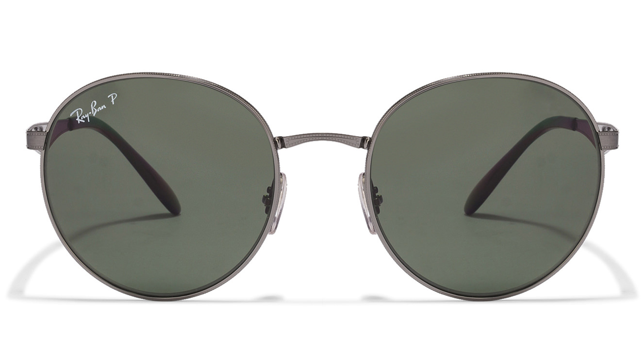 Ray-Ban RB3537 004/9A Size-51 Gunmetal Black Green Sunglasses  available at Lenskart for Rs.0