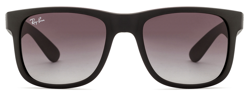 Ray-Ban RB4165 601/8G Size:51 Black Grey Gradient Wayfarer Sunglasses  available at Lenskart for Rs.0