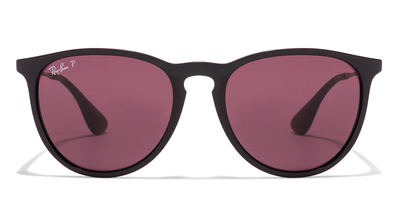 Ray-Ban RB4171 601/5Q Size-54 Black Pink Wayfarer Sunglasses  available at Lenskart for Rs.0