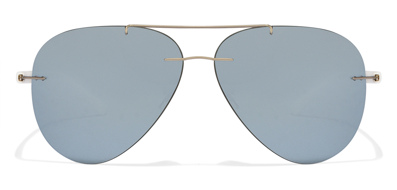 Ray-Ban RB8058 Size:59 Silver Mirror 003/30 Aviator Sunglasses  available at Lenskart for Rs.0
