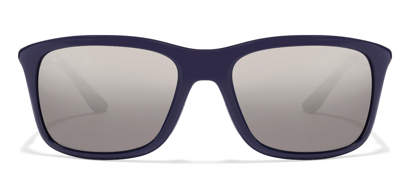 Ray-Ban RB8352 Size:57 Blue Gunmetal Grey Mirror 6222/82 Sunglasses  available at Lenskart for Rs.0