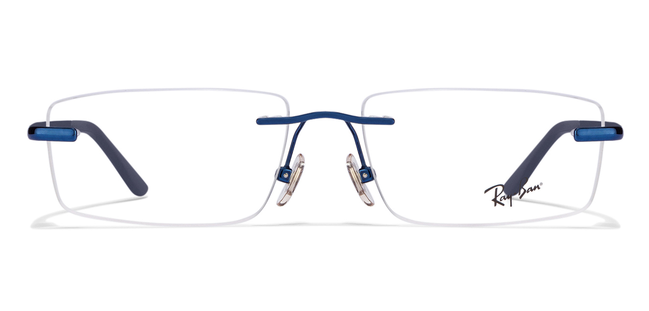 ray-ban RX6266 2520 Size:51 Blue Eyeglasses  available at Lenskart for Rs.0