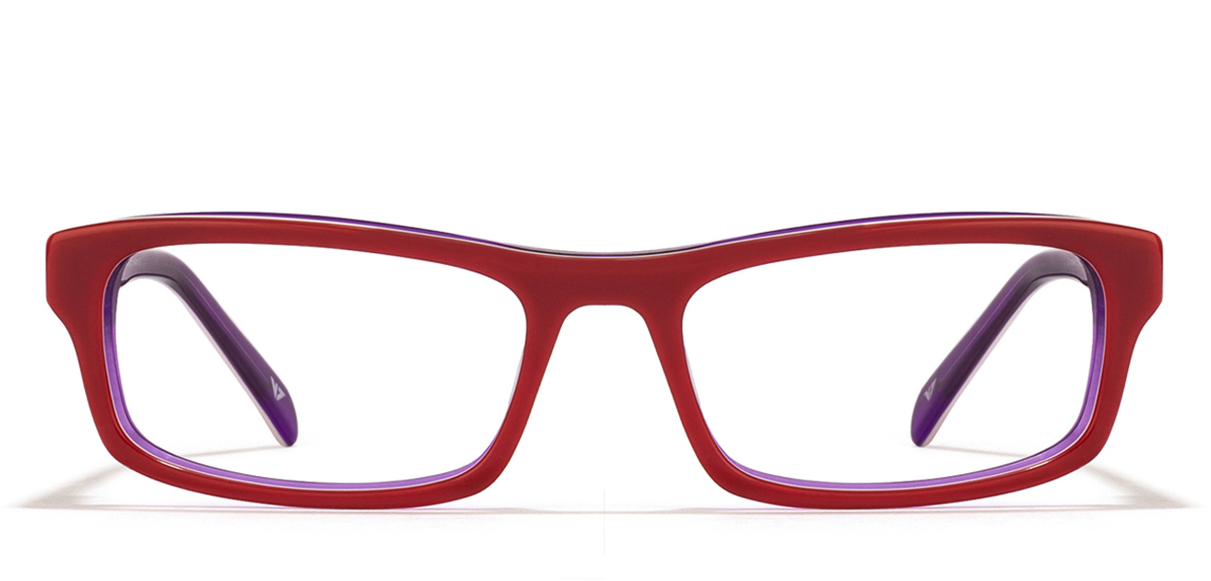 Free Frame : Vincent Chase Turn table VC 1483 Maroon Purple C3 Women Eyeglasses  available at Lenskart for Rs.0