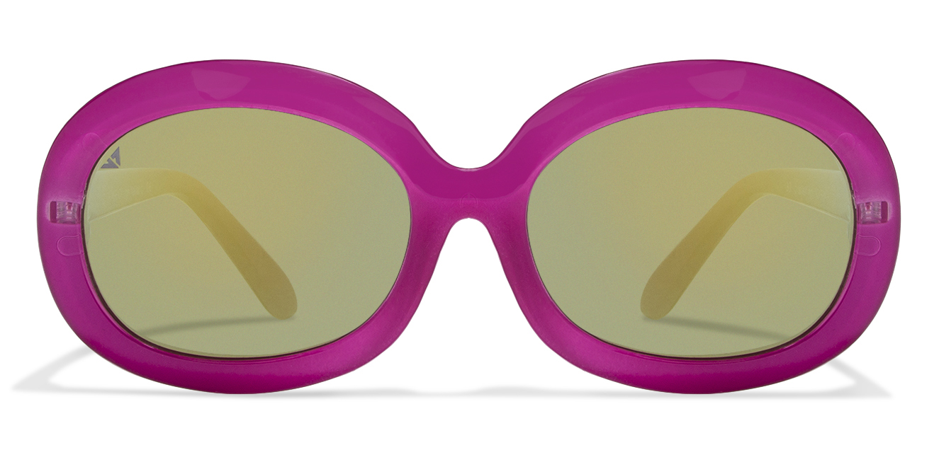 Light Pink Brown Mirror Cat Eye Sunglass Vincent Chase Kid's Rockstars VC S10743 - C2  available at Lenskart for Rs.0