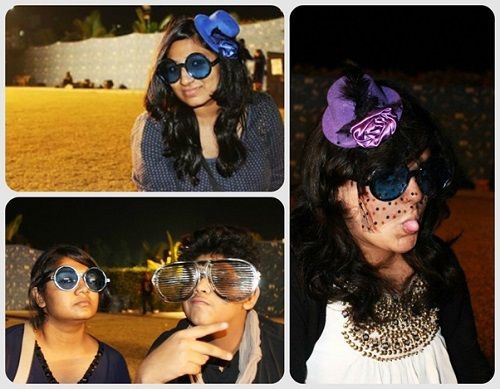 Fans spotted with extremely quirky eyewear at NH7