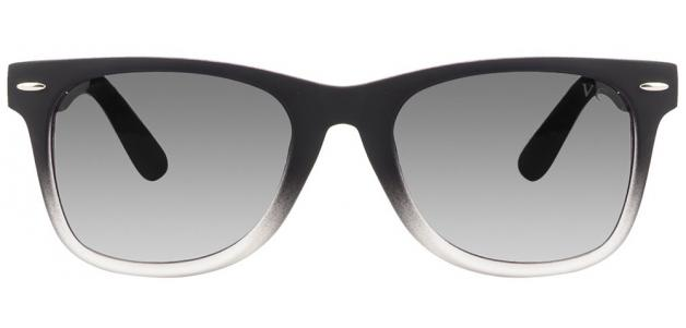 Vincent Chase Colorato Vc 5134 Matt Black Transparent Grey Gradient Wayfarer Sunglasses