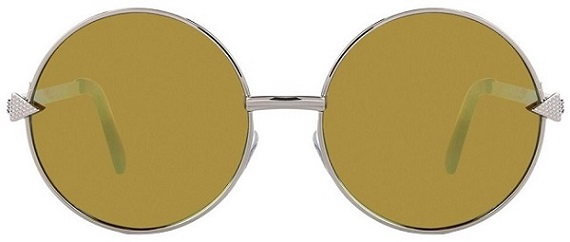 silver green mirror sunglasses